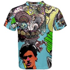 Parafreakout All Over Print Coolmax Cotton Tee (men) by naparadissis