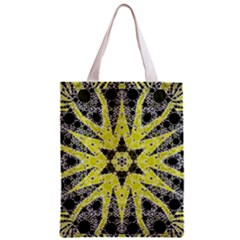 Bright Yellow Black  All Over Print Classic Tote Bag by OCDesignss