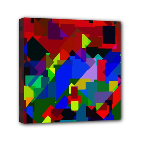 Pattern Mini Canvas 6  X 6  (framed) by Siebenhuehner