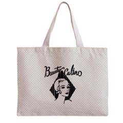 Vintage Beauty  All Over Print Tiny Tote Bag