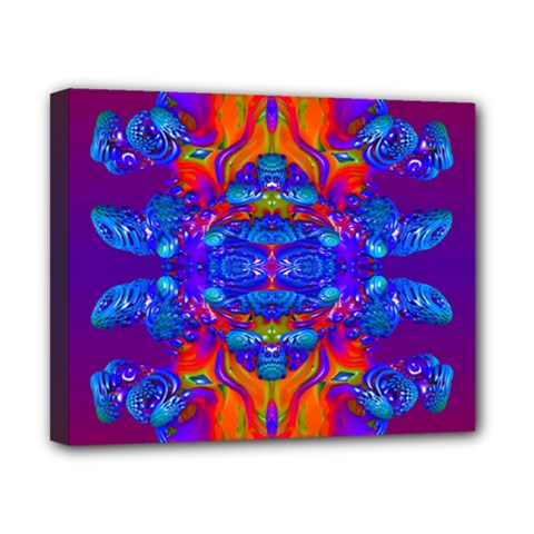 Abstract Reflections Canvas 10  X 8  (framed) by icarusismartdesigns