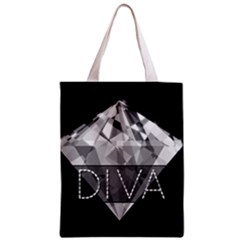 Diva Diamond  All Over Print Classic Tote Bag