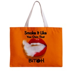 Vape Mouth Smoke Own That All Over Print Tiny Tote Bag by OCDesignss