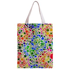 Neon Skiddles All Over Print Classic Tote Bag