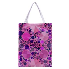 Pink Bling  All Over Print Classic Tote Bag by OCDesignss