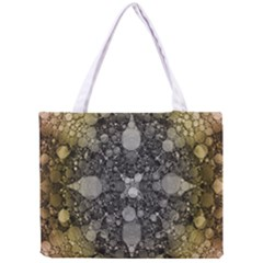 Abstract Earthtone  All Over Print Tiny Tote Bag