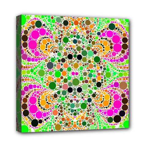 Florescent Abstract  Mini Canvas 8  X 8  (framed) by OCDesignss