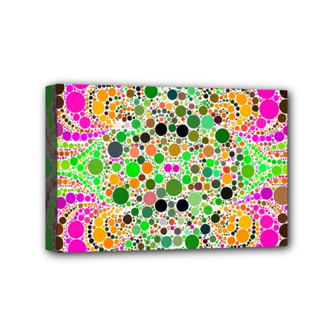 Florescent Abstract  Mini Canvas 6  X 4  (framed) by OCDesignss