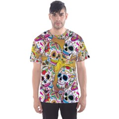 Sugar Skulls All Over Print Sport Tee (men) by UniqueandCustomGifts