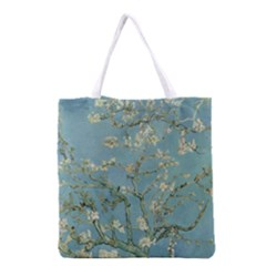 Vincent Van Gogh, Almond Blossom All Over Print Grocery Tote Bag by Oldmasters