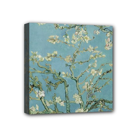 Vincent Van Gogh, Almond Blossom Mini Canvas 4  X 4  (framed)