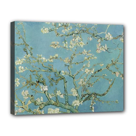 Vincent Van Gogh, Almond Blossom Canvas 14  X 11  (framed) by Oldmasters
