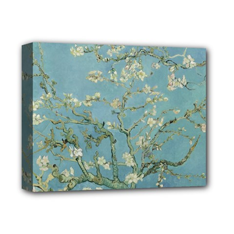 Vincent Van Gogh, Almond Blossom Deluxe Canvas 14  X 11  (framed) by Oldmasters