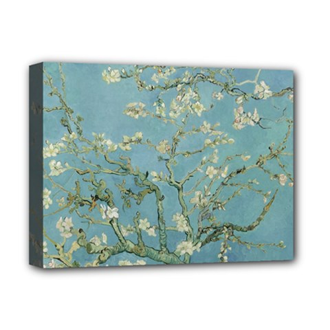Vincent Van Gogh, Almond Blossom Deluxe Canvas 16  X 12  (framed)  by Oldmasters