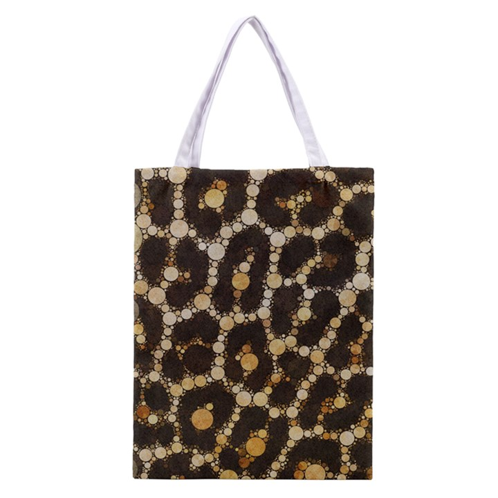 Cheetah Abstract  All Over Print Classic Tote Bag