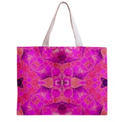 Beautiful Pink Coral  All Over Print Tiny Tote Bag