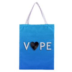 Vape Heart  All Over Print Classic Tote Bag