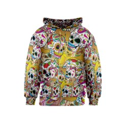 Sugar Skulls Kids Hoodie by UniqueandCustomGifts