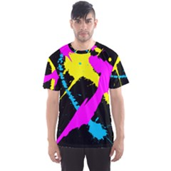 Splatter All Over Print Sport T Shirt (men) by UniqueandCustomGifts