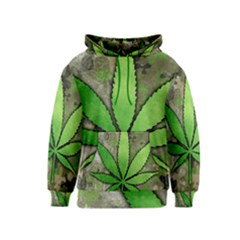 Weed Leaf Kids Hoodie by UniqueandCustomGifts
