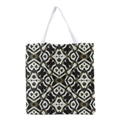 Abstract Geometric Modern Pattern  Grocery Tote Bag by dflcprints