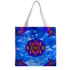 Sky Horizon Grocery Tote Bag by icarusismartdesigns
