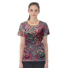 Color Mix Women s Sport Mesh Tee