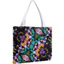 Digital Futuristic Geometric Pattern Tiny Tote Bag View2