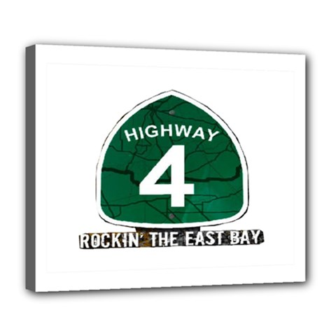Hwy 4 Website Pic Cut 2 Page4 Deluxe Canvas 24  X 20  (framed) by tammystotesandtreasures