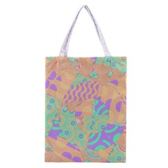 Tropical Summer Fruit Orange Lime Berry Classic Tote Bag