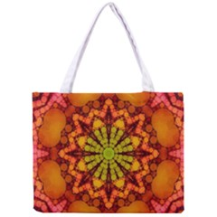 Florescent Abstract Tiny Tote Bag by OCDesignss