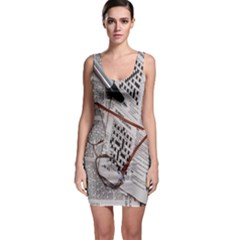 Crossword Genius Bodycon Dress by StuffOrSomething