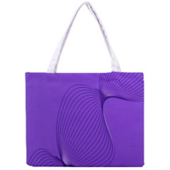 Twisted Purple Pain Signals Tiny Tote Bag by FunWithFibro