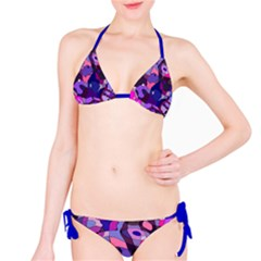 Blue Purple Chaos Bikini by LalyLauraFLM