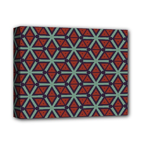 Cubes Pattern Abstract Design Deluxe Canvas 14  X 11  (stretched) by LalyLauraFLM