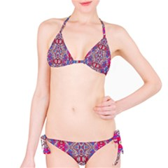 Colorful Ornate Decorative Pattern Bikini by dflcprintsclothing