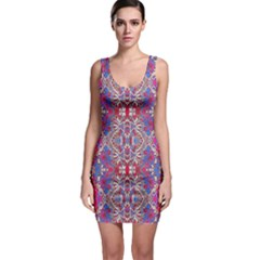 Colorful Ornate Decorative Pattern Bodycon Dress by dflcprintsclothing