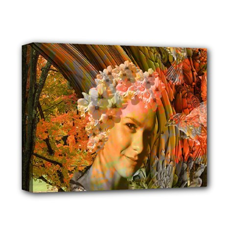 Autumn Deluxe Canvas 14  X 11  (framed) by icarusismartdesigns