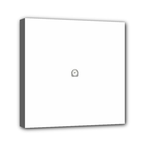 Alarm Mini Canvas 6  X 6  (framed) by Classicclocks