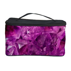 Amethyst Stone Of Healing Cosmetic Storage Case by FunWithFibro