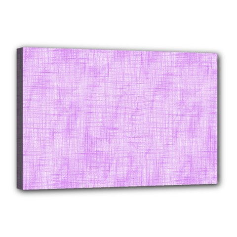 Hidden Pain In Purple Canvas 18  X 12  (framed) by FunWithFibro