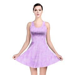 Hidden Pain In Purple Reversible Skater Dress