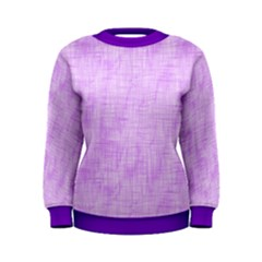 Hidden Pain In Purple Women s Sweatshirt