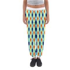 Yellow Chains Pattern Women s Jogger Sweatpants by LalyLauraFLM