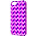 Modern Retro Chevron Patchwork Pattern Apple iPhone 5 Classic Hardshell Case View3