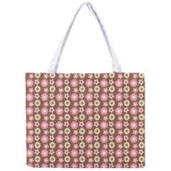 Cute Floral Pattern Tiny Tote Bag by creativemom