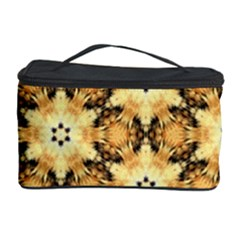Faux Animal Print Pattern Cosmetic Storage Case by creativemom