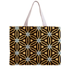 Faux Animal Print Pattern Tiny Tote Bag by creativemom