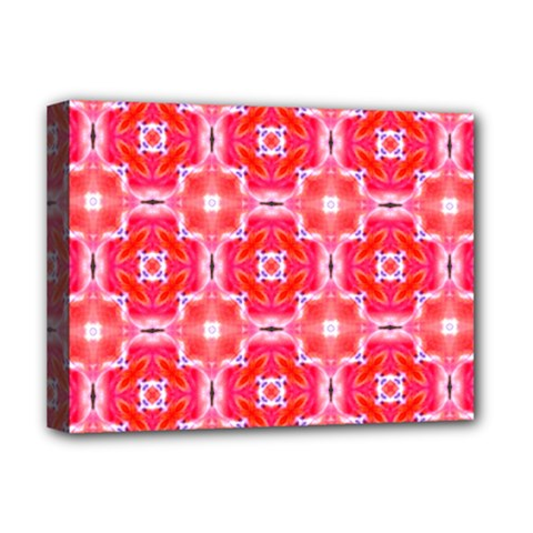 Cute Pretty Elegant Pattern Deluxe Canvas 16  X 12  (framed)  by creativemom