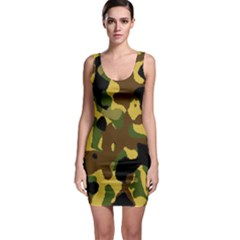 Camo Pattern  Bodycon Dress by Colorfulart23